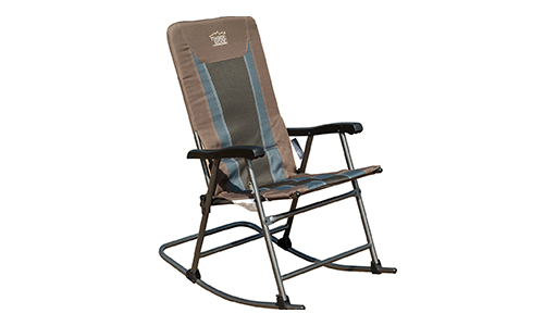 Timber Ridge Smooth Glide Lightweight Padded Rocking Chair.