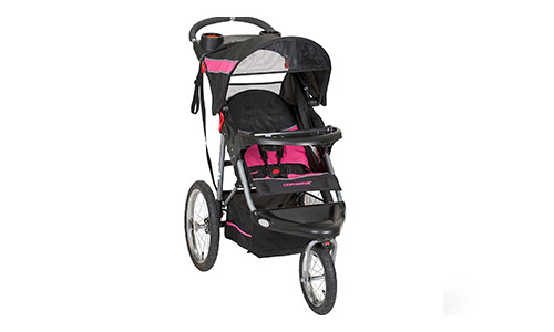 Youngster incline running stroller