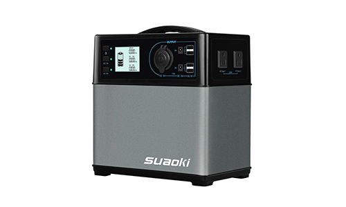 Suaoki 444Wh/120,000mAh Portable Solar Generator Lithium ion Power Source Power Supply