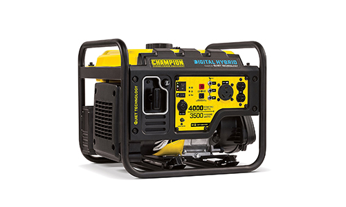 Champion 3500-Watt RV Ready Digital Hybrid Portable Generator