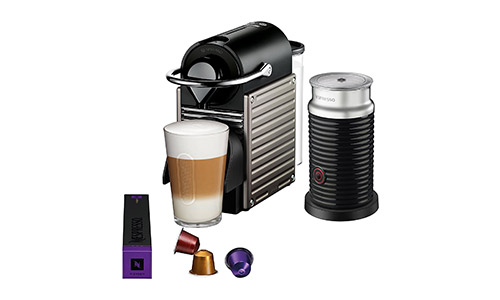 #Nespresso Pixie Espresso Machine by Breville with Aeroccino