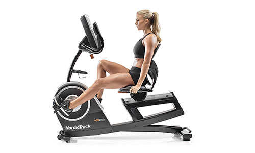 Nordic Track Commercial Vr21 Recumbent Bike.