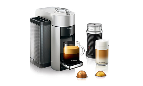 #Nespresso Vertuo Evoluo Coffee and Espresso Machine with Aeroccino by De'Longhi