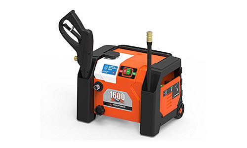 Yard Force 1600 PSI 1.2 GPM All-in 1 Electric Pressure Washer.