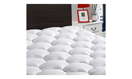 """Full Overfilled Mattress Pad Cover 8-21""""Deep Pocket"""