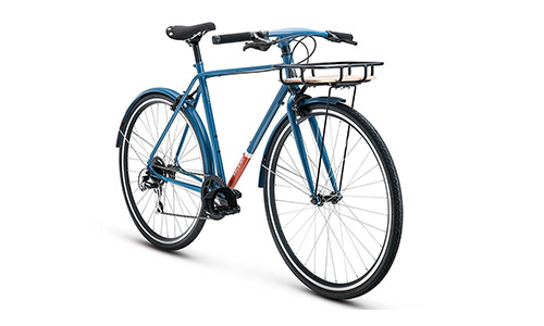 New 2018 Raleigh Carlton 8 Complete City Bike