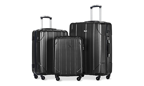 Merax 3 Piece P.E.T Luggage Set