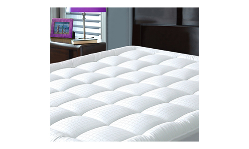 Pillowtop Mattress Pad Cover Queen Size - Hypoallergenic