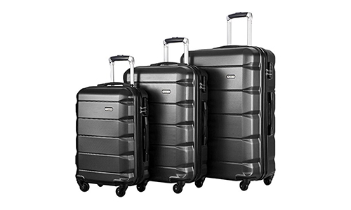 Flieks Luggage Set Spinner Suitcase
