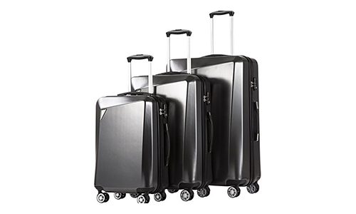 Coolife Luggage Suitcase