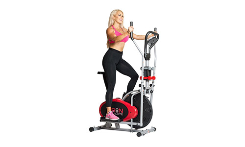 Iron Athlete Elliptical 4 in 1 Trainer Exercise Bike.