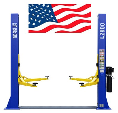 Chien Rong cr two post l2900 220v auto lift 9,000 lb. Capacity car vehicle lift 12-month warranty