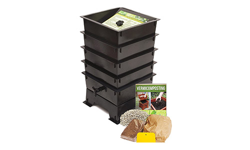 Worm Factory DS4BT 4-Tray Worm Composter