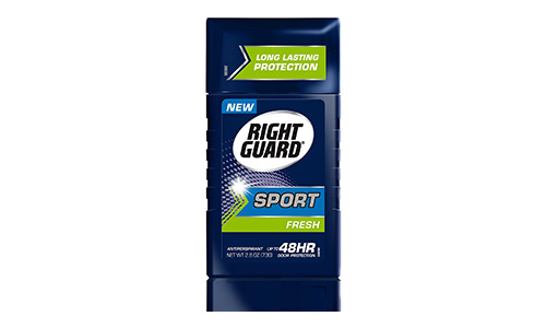 Right Guard Sport Antiperspirant Up to 48HR, Fresh 2.6 oz (Pack of 6)