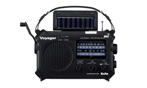 Kaito KA500 5-Way Powered Emergency AM/FM/SW NOAA Weather Alert Radio