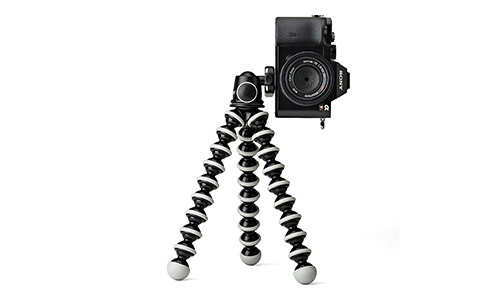 JOBY GorillaPod SLR Zoom. Flexible Tripod with Ballhead Bundle for DSLR