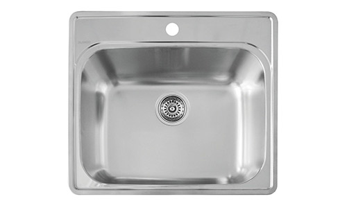 Blanco 441078 Essential Laundry Sink, Stainless Steel