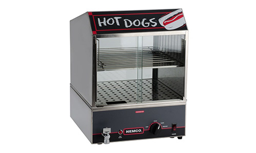 Nemco Hot Dog Steamer w/ Low Water Indicator