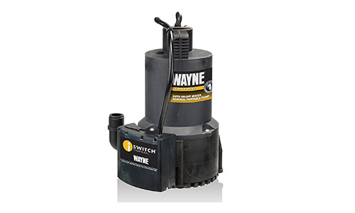 WAYNE EEAUP250 1/4 HP Automatic Water Pump