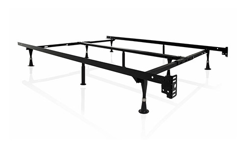 STRUCTURES by Malouf Heavy Duty 9-Leg Adjustable Metal Bed Frame