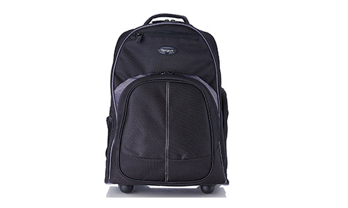 "Targus 16"", Compact Rolling Backpack, Black"