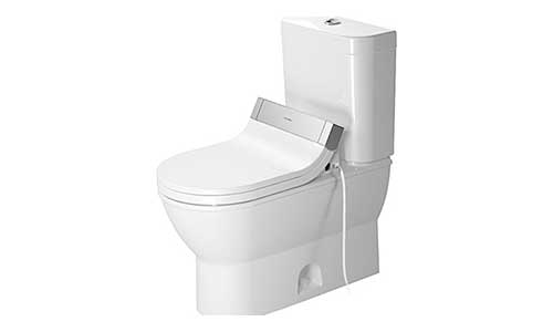 Duravit 2126010000 Darling Two-Piece Toilet, White