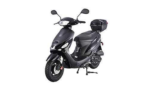 TaoTao ATM-50A1 BLACK Electric Moped for Adults