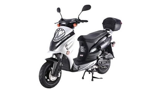 TaoTao CY50-A SILVER Electric Moped for Adults