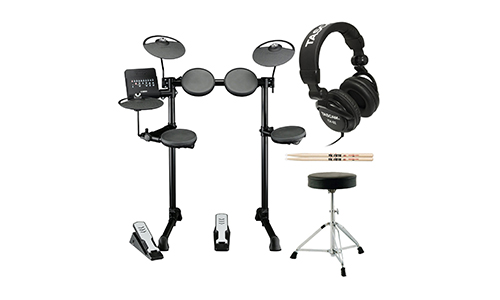 Yamaha DTX400k Customized Electronic Drum Set.
