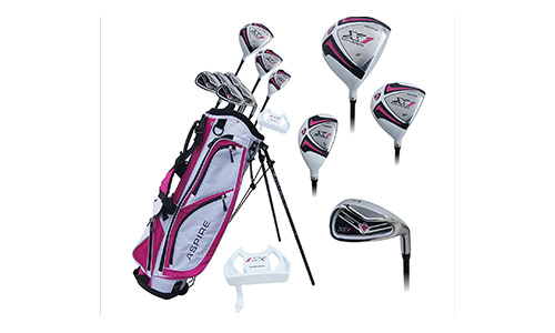 Aspire X1 Ladies Womens Complete Golf Clubs Set