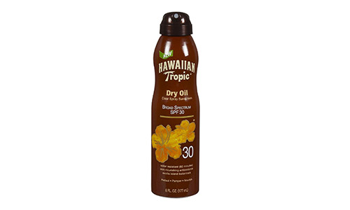 Hawaiian Tropic Protective Tanning Dry Oil