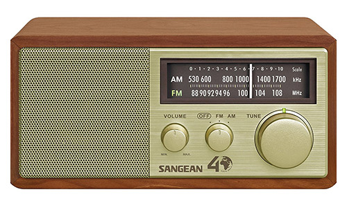 Sangean WR- 11SE AM/FM Table Top Radio 40th Anniversary Edition