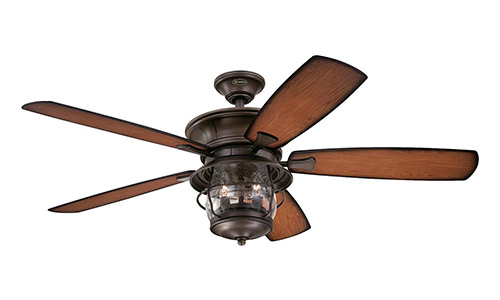Westinghouse Brentford Aged Walnut Indoor/Outdoor Ceiling Fan