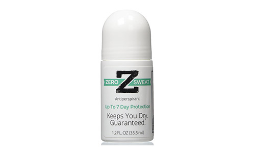 ZeroSweat Antiperspirant Up-to 7 Day Protection Per Use