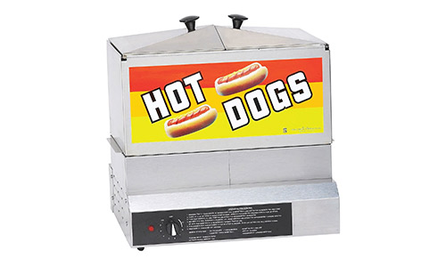 Gold Medal® Hot Dog Steamer