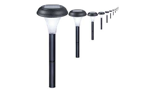 GardenBliss 10 Pack of Outdoor Solar Garden Lights
