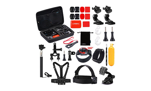 Luxebell Outdoor Sports Camera Accessories Kit