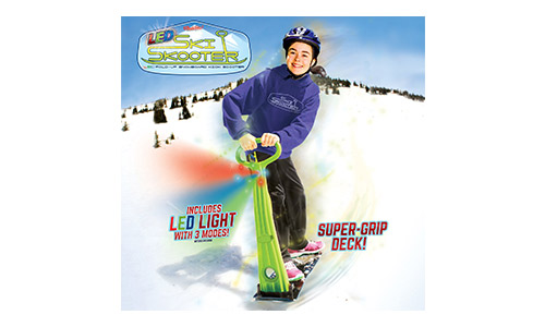GeoSpace Original LED Ski Skooter