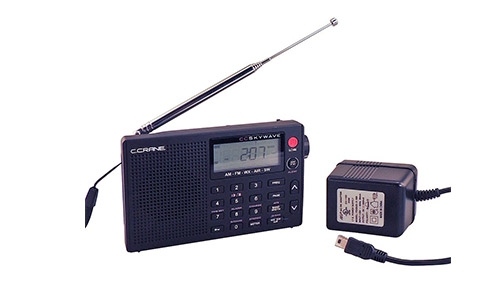 C. Crane CC Skywave AM, FM, Shortwave, Weather and Airband Portable Travel Radio