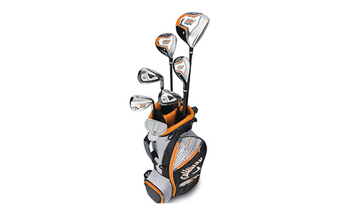 Callaway Boys Hot Junior Kids Golf Club Set
