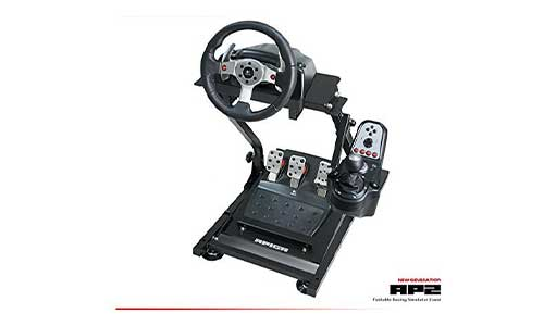 APIGA AP2 Foldable Racing Simulator Stand plus gearshift mount