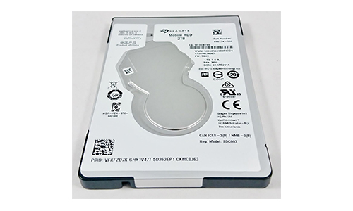 2TB SATA Notebook Laptop 2.5
