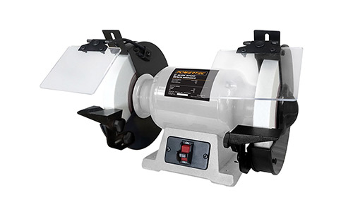 POWERTEC Slow Speed Bench Grinder