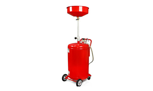 XtremepowerUS 20 Gallon Portable Waste Oil Drain Tank Air Operated