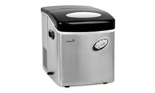Ivation 48-Pound Daily Capacity Counter Top Ice Maker