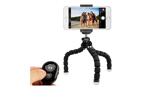 KobraTech Mini Cell Phone Tripod - TriFlex Mini Any Smartphone
