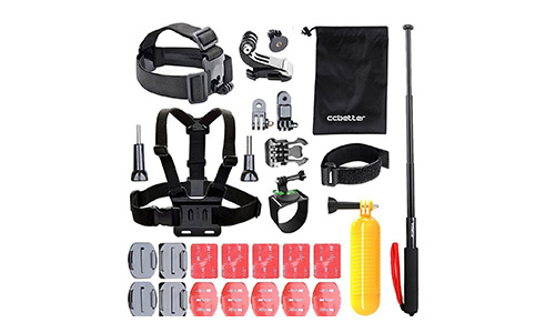 CCbetter Gopro 30-in-1 Accessories Kit