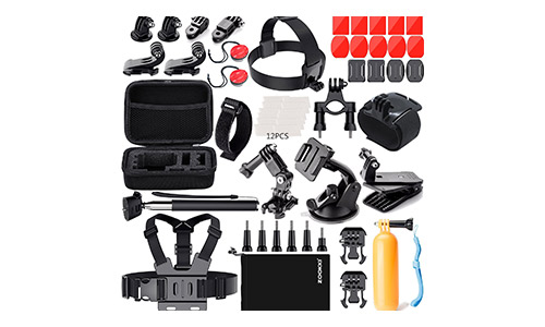 Zookki Accessories Kit With Helmet Mount