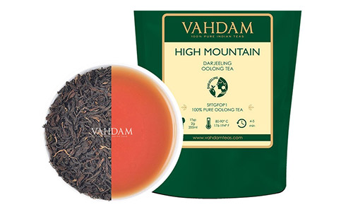 Vahdam Teas High Mountain Oolong Tea Leaves