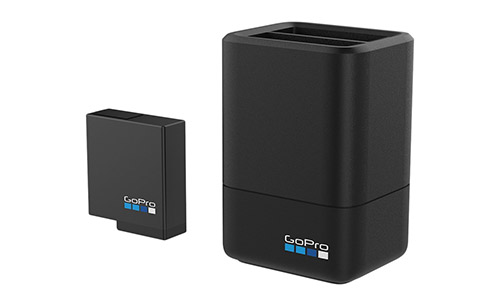 GoPro Dual Battery Charger + Battery For Hero Black